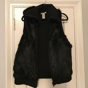 100% RABBIT FUR VEST