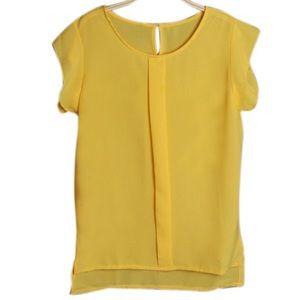 Classic Tops - Beautiful Yellow Blouse