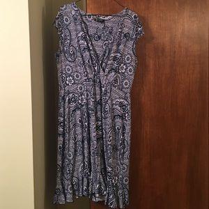 Glamour & Co. Dresses & Skirts - Western Calico Paisley Dress