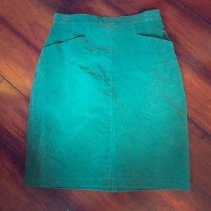 Vintage | Leather Skirt