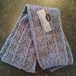 Lemon Accessories - Lemon leg warmers in Pewter