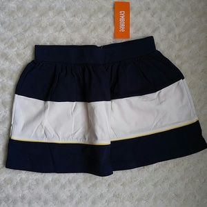 Gymboree Other - Gymboree color block striped skirt