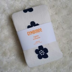 Gymboree Other - Gymboree flower tights