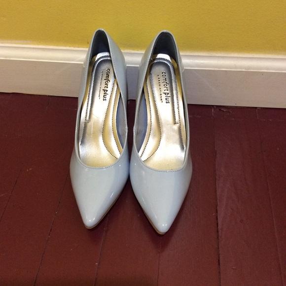 Comfort Plus By Predictions Shoes Powder Blue 3 Comfort Plus By Predictions Heels Poshmark