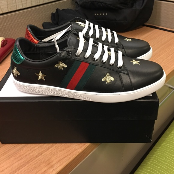 bf68d648824 Gucci Other - Men s Gucci Ace-Embroidered Sneakers