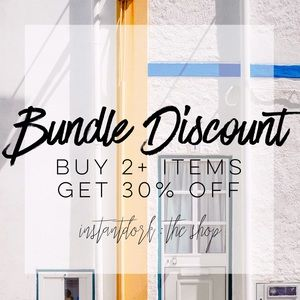 30% off bundles; also accepting offers