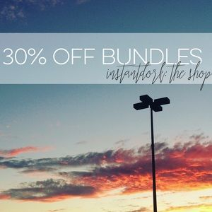 Bundle for up to 30% off // ends Feb. 26