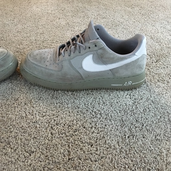 Nike Shoes   Nike Air Force Grey Suede