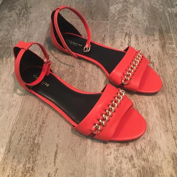 dac564cf475e Coach Shoes - NWOT Coach sea breeze sandals.