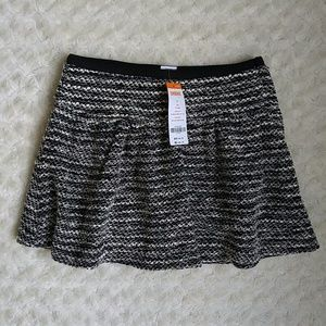 Gymboree Other - Gymboree black and off white boucle skirt