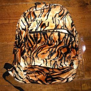 Tiger stripe backpack