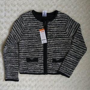 Gymboree Other - Gymboree black and off white boucle jacket/ blazer