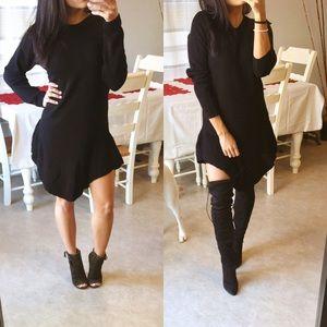 Dresses & Skirts - CLOSET CLOSING SALE•Black light sweater dress