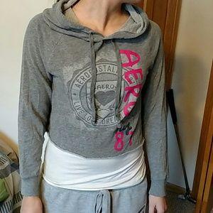 16Aeropostale crop-sweatshirt