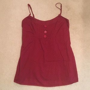 Love Squared Tops - 🚨SALE!🚨Adorable and Flattering Red Top!