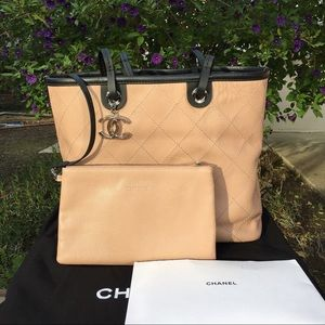 Authentic Chanel Shopping Fever Tote/Shoulder Bag