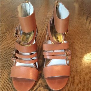 MICHAEL Michael Kors leather heeled sandal
