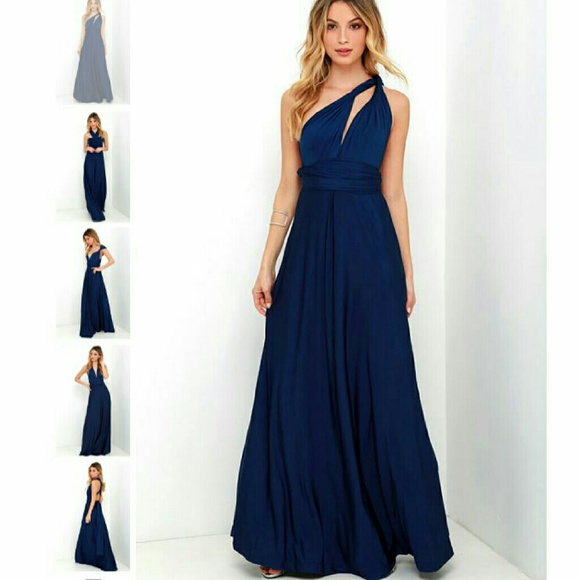 a679c7e49af NWT Lulu s Always Stunning Convertible Maxi Dress