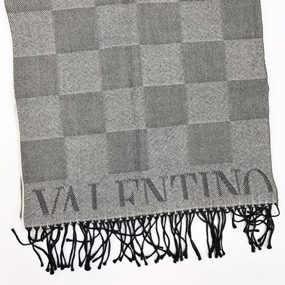 classic scarf - Black Valentino WeaUu