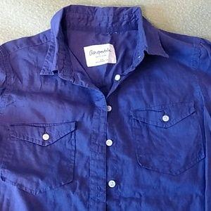 24Dark purple button down shirt