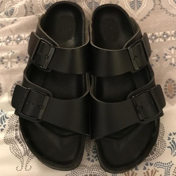 3984ecdee17 Birkenstock Shoes -  1 HOUR SALE Birkenstock  Monterey  Leather Sandal