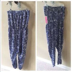 Lilly Pulitzer for Target Pants - NWT Lilly Pullitzer Upstream Strapless Jumpsuit