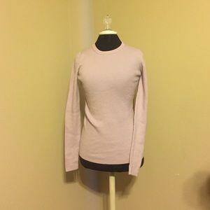 J. Crew Lavender Ribbed Sweater
