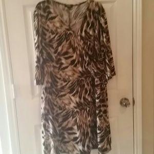 Elementz woman animal print  dress