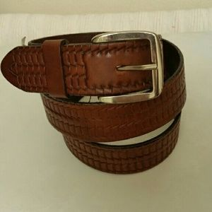 Other - NWT Original leather belt made in Italy