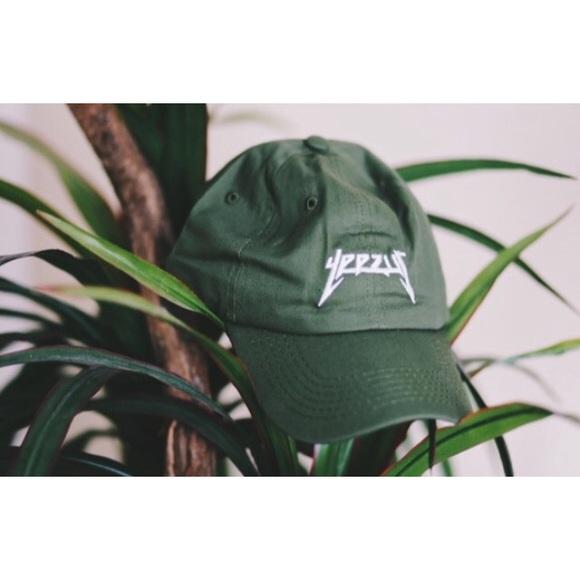4997289d Yeezy Accessories | Yeezus Dad Hat Army Green Brand New | Poshmark