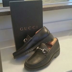 84c4604924c Gucci Shoes -  GUCCI  HORSEBIT LEATHER LOAFERS!