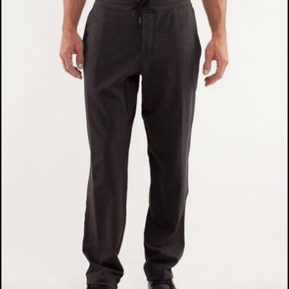 ca4a0fb33 lululemon athletica Other - Lululemon Men Studio Pants ll Size Large Tall  NWOT