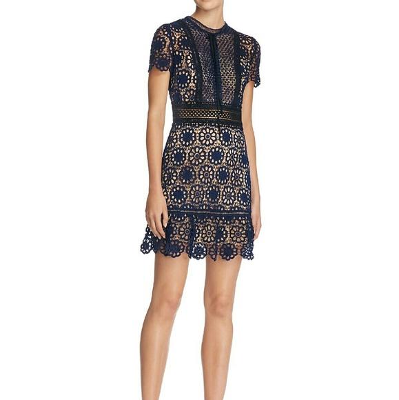 c8efe634556d Aqua Dresses | Lace Flounce Hem Dress | Poshmark
