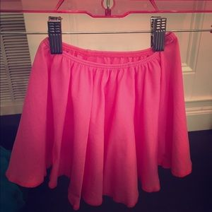 Other - Kids small/medium pink ballet skirt- NWOT