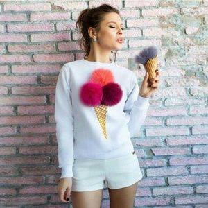 "Tops - 🌟🚨LAST 2🚨""We Scream for Ice Cream"" top NWOT"