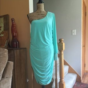 Dresses & Skirts - Mint Green NWT split sleeve 3x