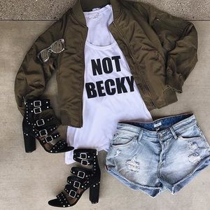 Not Becky tank