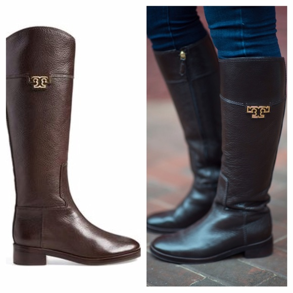 7b0229dfa4d9 NEW Tory Burch Joanna riding boots