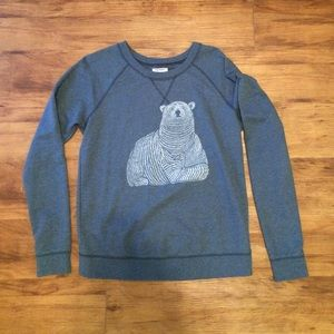 Old Navy Sweaters - Adorable polar bear navy blue sweater