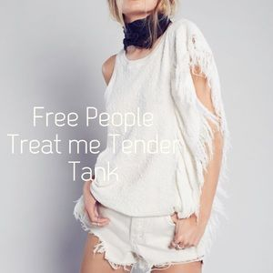 Free People Tops - Free People treat me tender tank