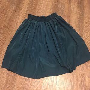 Blue/Green American Apparel Skirt