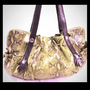 CHI DESIGNED BY FALCHI Handbags - CHI DESIGNED BY FALCHI Lambskin -Reptile Bag