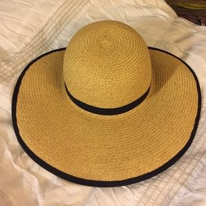Everyrhing But Water  Other - Straw hat with no brim around the back