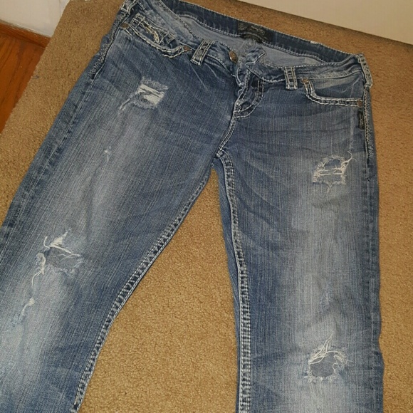 49% off Silver Jeans Denim - Silver Baby Boot Jeans from Amanda's ...