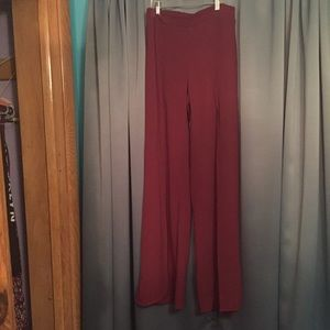 Charlotte Russe Pants - Maroon Dress Pants