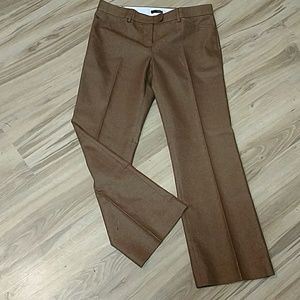 J. Crew Metallic weave trouser
