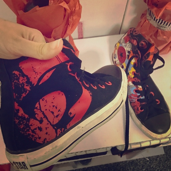 8eb2ccd208957d Converse Shoes - Converse Limited Edition Thundercats High Tops !