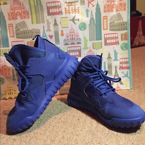 Adidas Shoes - Blue adidas tubular X 0fa4b2069