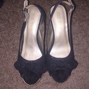 Me Too Shoes - Me Too Wedges Espadrilles sz 7.5