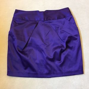 Forever 21 Purple Tulip Mini Skirt w/ Pockets